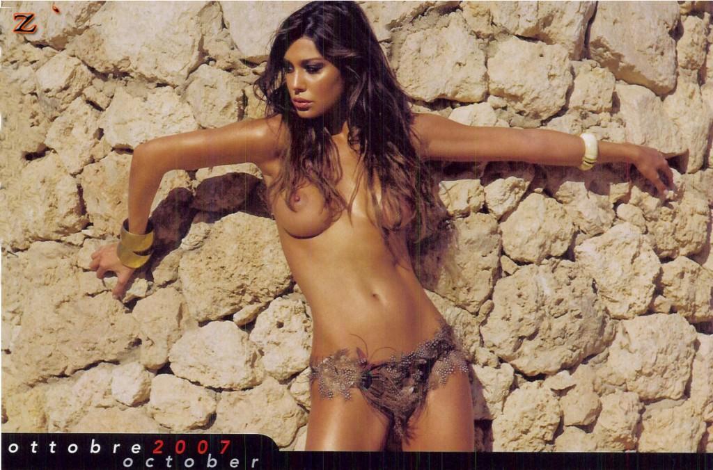 Calendario Belen Nuda.Belen Rodriguez Posa Nuda Notizie Per Tutti